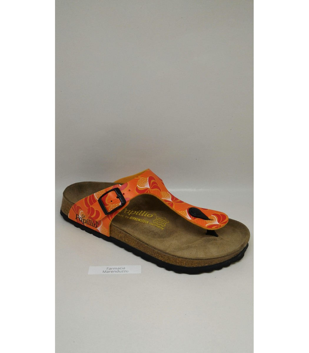 newest collection 76593 9f807 Birkenstock Infradito Gizeh african orange
