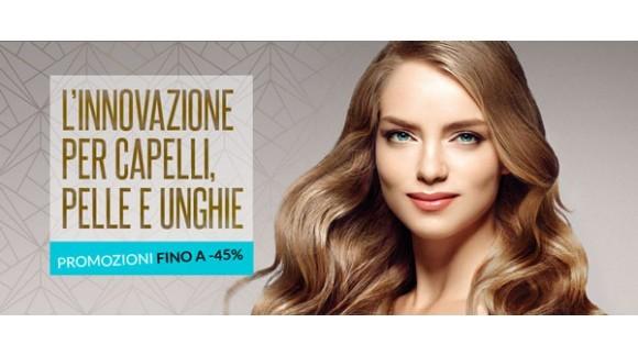 L'innovazione per capelli, pelle e unghie